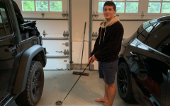 Josh Leon '21 began his hobby of golfing because his brother claimed Josh wouldn't be able to pick up the sport. Leon took his brother up on that challenge and now golfs once a week at Longshore Country Club.