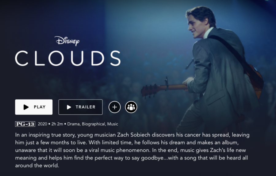 Disney's original movie 'Clouds,' based on a true story, leaves viewers in tears while singing along to the single written by cancer patient Zach Sobiech.