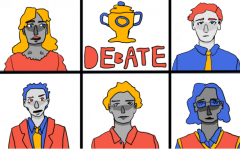 Debate team quarrels to success