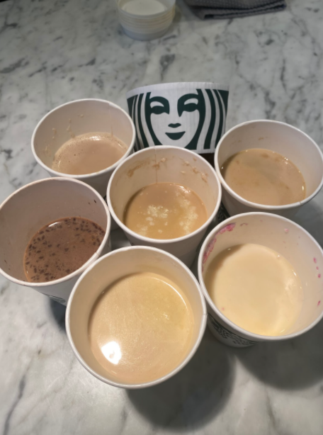 All six of the new holiday themed drinks that are being featured on the Starbucks menu are super delicious, and worth a trying out.