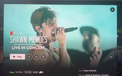 """""""Shawn Mendes: In Wonder"""" film on Netflix. The film released on Monday and is available via the streaming site. The film features Mendes' journey through stardom and the hardships that go along with it."""