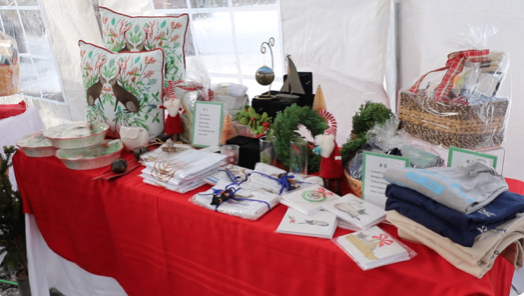 The Westport Museum for History and Culture hosted their winter market on Dec. 19. Local artists sold everything from olive oil to their photographs and paintings.