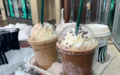Holiday drinks have been introduced to the Starbucks menu to allow customers to indulge in sweet, caffeinated treats for this winter season. There is an array of both hot and iced drinks to enjoy.