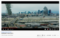The trailer for the movie depicts an apocalyptic scene, and pushes the idea that COVID-19 will be the end of the world as we know it.