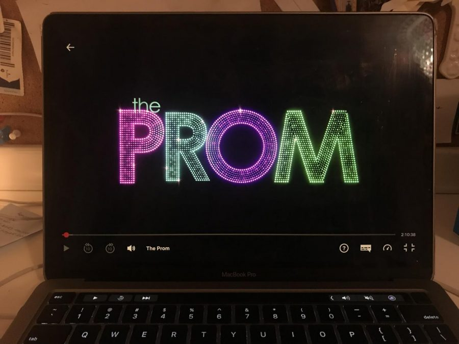 """The Prom"" was released on Netflix on Friday Dec. 11. It is the adapted screen version of the Broadway musical by the same name."