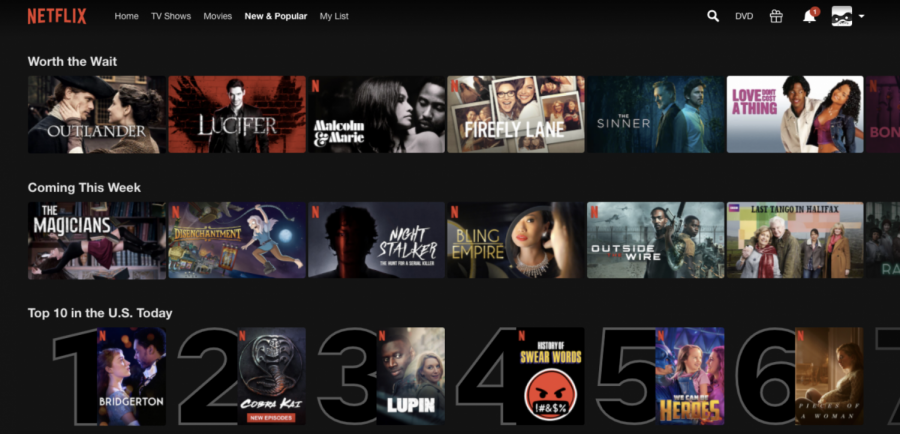 While Netflix used to be the only widely used streaming service, many new ones have been introduced within the past few years, and competition between them has continued to grow.