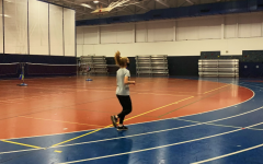 Indoor track preseason has been abiding by all of the regulations that they must follow this season. Runners wear masks when practicing and social distance when necessary.