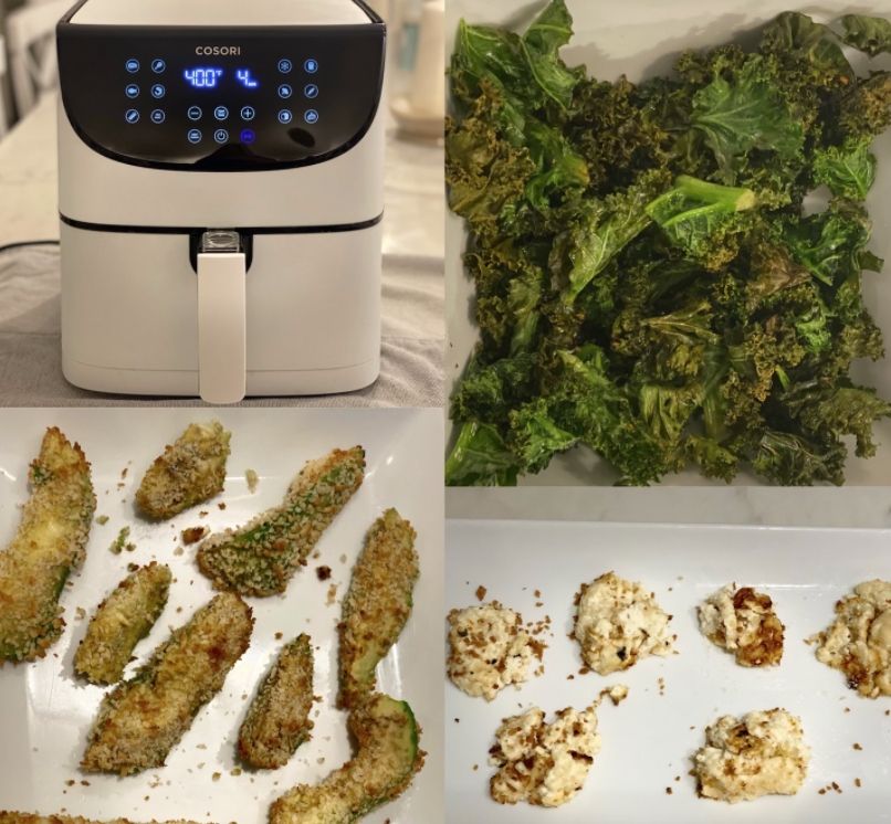 As the year gets busier, these simple air fryer snacks are easy ways to satisfy your hunger cravings.