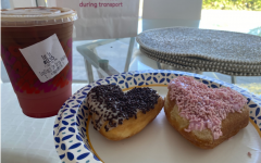 Dunkin Donuts has released their annual Valentine's Day themed treats, including the Pink Velvet Macchiato, as well as brownie batter and strawberry heart shaped donuts.