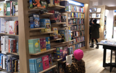 Though the old Barnes & Noble carried many memories, the new one is vibrant and invites Westporters to make new ones downtown. This young reader certainly is!