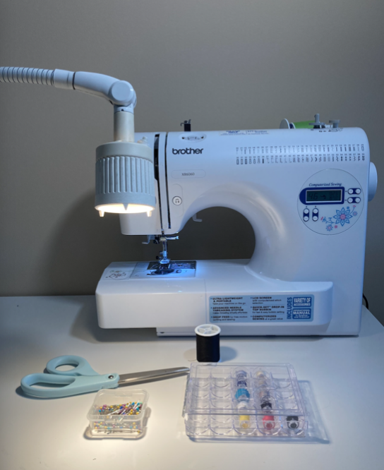 These are all of the materials needed to cuff any pair of pants and sew exciting stitches to the linings of clothing articles. This will revamp garments in addition to providing pops of color.