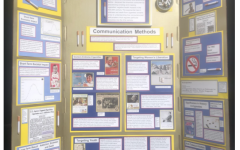 Some students, like Zach Brody '23, created an exhibit for NHD. Instead of presenting it in-person to be scored, Brody submitted photos of his display.