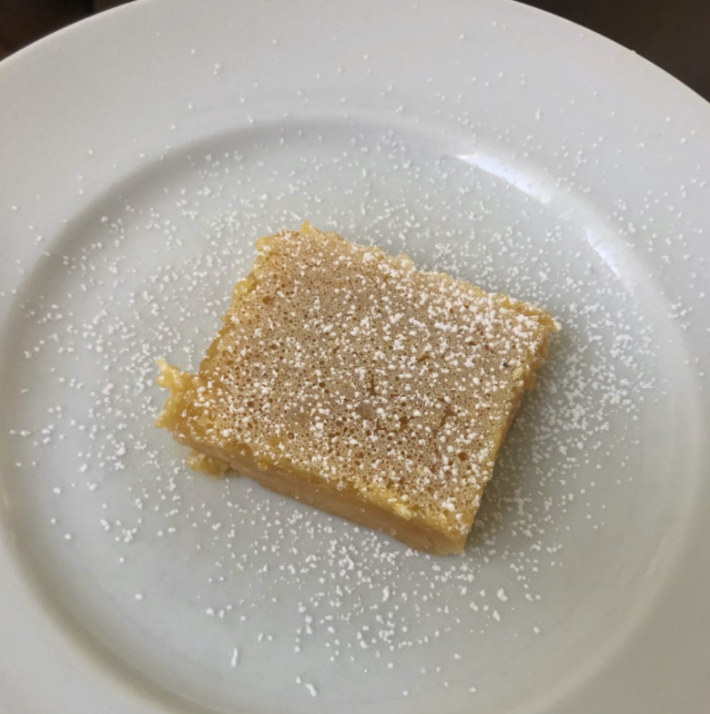 Lemon bars are easy and quick to make. They are perfect for the spring because of their light and refreshing taste and sunny color.