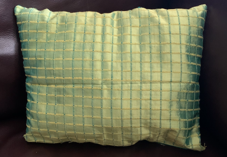 If you ever want to pick up sewing, start here. This simple, and easy step by step how to sew a pillow is perfect for beginners to create a flattering piece with their own two hands. The skills used for this pillow can be used to further your sewing expertise, and to offer lifelong skills.