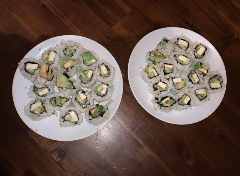 Homemade vegetable sushi is a delicious and simple dinner to make with friends and family.