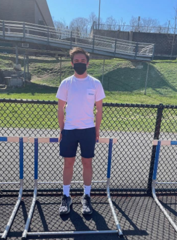 Ben Berkley '22 has been the track and field manager for the past two years, after being a runner on the team his freshman year.