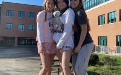 Each day of the week corresponded to a different theme where students and staff were encouraged to dress up and show off their school spirit.  *masks were only removed for the photo*
