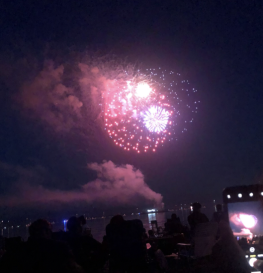 The Fourth of July firework show at Compo Beach during the summer of 2019 was the last before COVID-19.