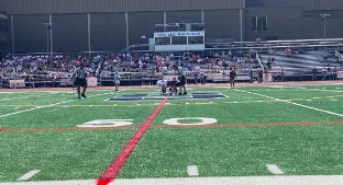 Staples boys' lacrosse won 12-11 against Ridgefield on Saturday May 15.