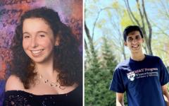Hannah Even '21 and Rishabh Mandayam '21 were awarded a $2,500 National Merit Scholarship.