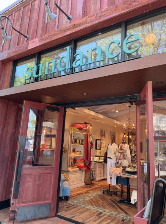 New store Sundance located on Main Street in Westport offers apparel, shoes, jewelry, accessories, art and home decor.