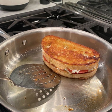 This easily prepared Santorini Grilled Cheese will make anyones mouth water.