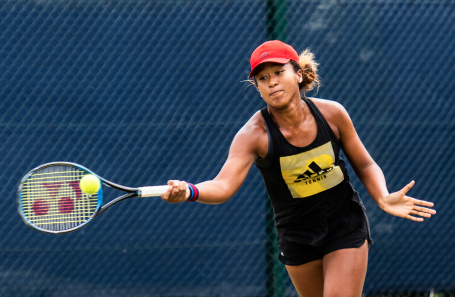 Tennis Player Naomi Osaka receives support from fans after withdrawing from the Australian Open.