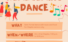 Staples administrators announced that a Homecoming Dance for seniors will take place on Oct. 23, following a majority of survey responses in favor of the dance.