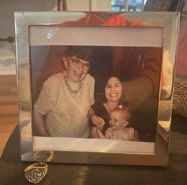 Here is a photo of my great grandmother Betty with my grandma and sister. On the table is the ring she used to wear that my grandma gifted to me. Although I never got to meet her, I am so fortunate to be named after her.
