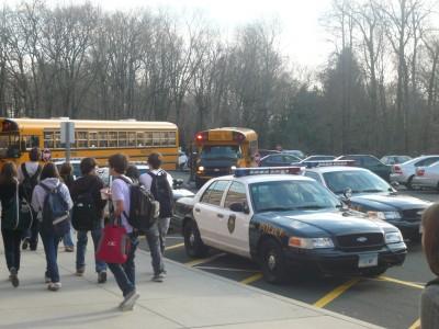 Arrests on Staples Campus