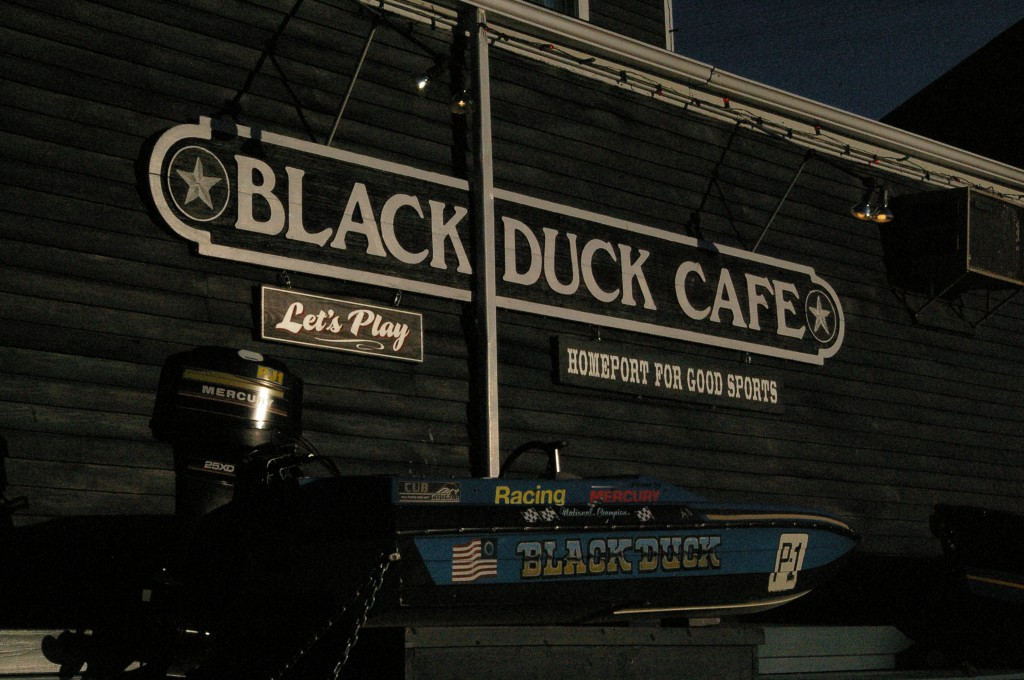 The Black Duck Cafe emerged as the best place to get burgers in Westport after a tough examination | Photo by Victor Hollenberg '10