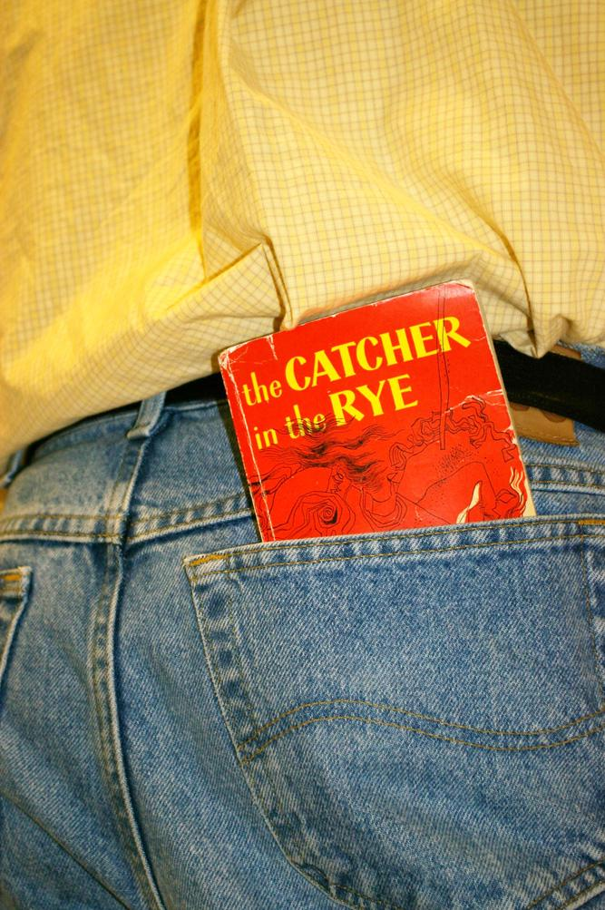 Catcher in the Rye has become a rite of passage for the young reader of lilterature. Photo by Beth Humphrey
