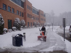 No Early Dismissal Despite Surprise Snow Fall