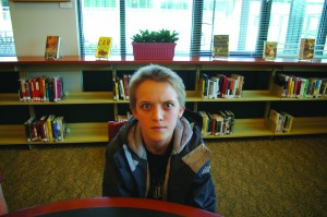 Max Kahn '13 is worried about moving up in classes.   Photo by John Watson '12.