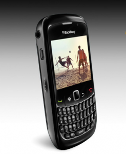 The new BlackBerry curve comes in black, violet, frost and white. | Photo from www.blackberry.com
