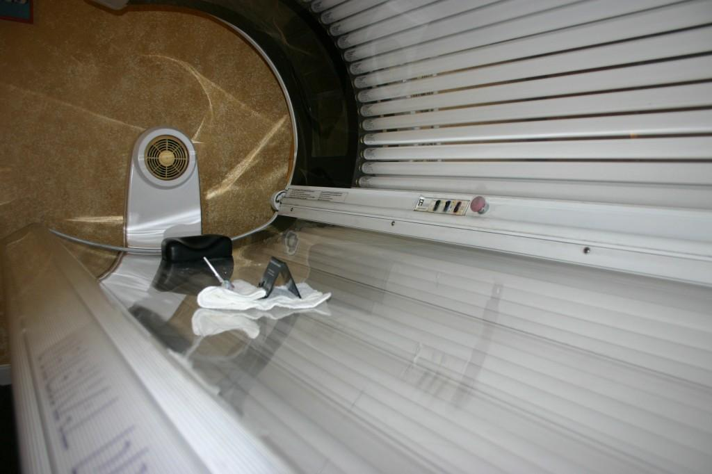 "TANNING TREND: Tanning beds have become increasingly popular among teenagers. Most notably, the trend was exemplified by the MTV reality show ""Jersey Shore."" 