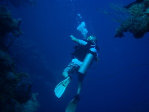 Under the Sea: Staples Students Scuba Dive During Vacations