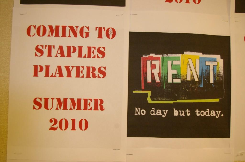 Players to Perform Rent This Summer