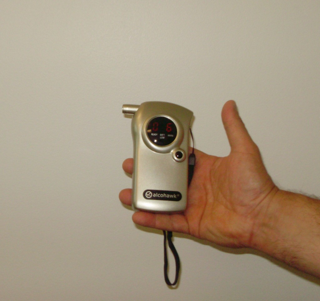 School administrators will have access to two of these breathalyzer devices at prom.   Photo by Emily Goldberg