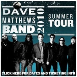 Hartford, CT is just the beginning of Dave Matthews Band summer tour.