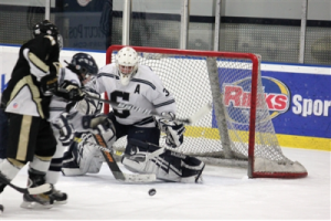 Staples Boys Hockey improves to 2-0 with win over Joel Barlowe