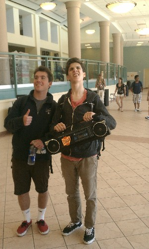 June 8, 2012 | Boombox in the Halls