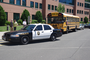 Minor Automobile Accident on Campus as Summer Begins