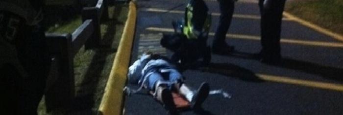 Teen Injured in Halftime Incident