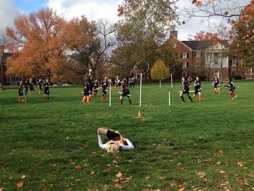 Oct. 20, 2012   Quidditch on the Quad