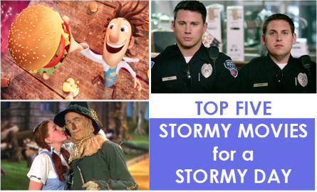 This list of flicks will keep you going through the storm.