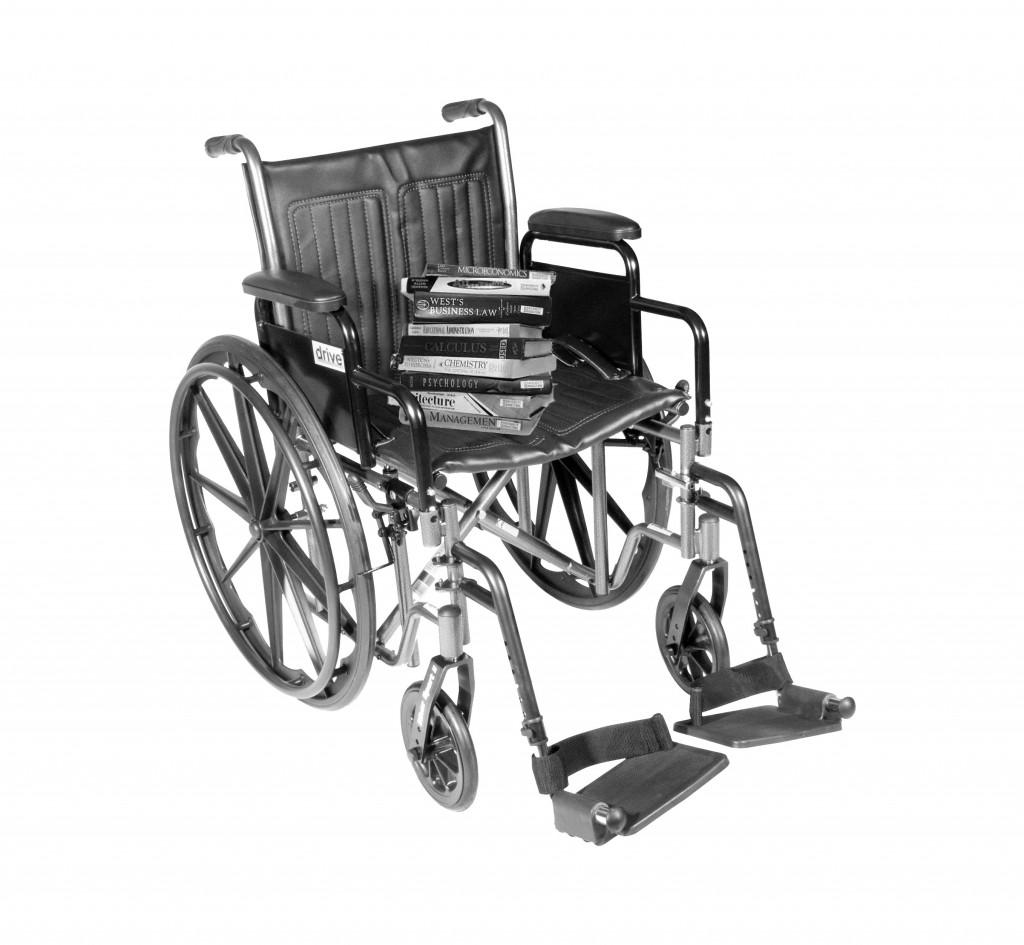 Wheelchair grey