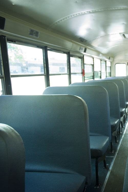 A Coleytown bus driver was removed after threatening students and making comments of a sexual nature.