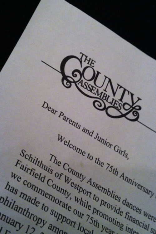 This year, junior girls interested in signing up for Counties submitted their names and information outside of school. This change occurred because Counties is not a school-sponsored event.