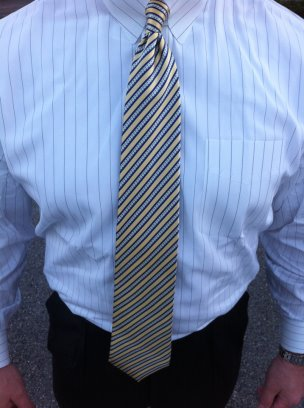 A Typical Teachers Shirt and Tie